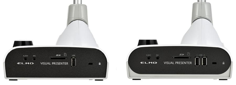 enregistrer les images prises par le visualiseur ELMO sur une clé USB ou une carte SD