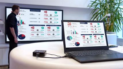 QuattroPod 4K compatible avec le touch sur écran interactif