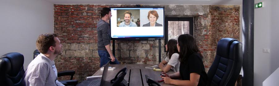 Ecran interactif haute precission visioconference
