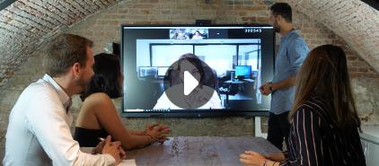 écran interactif pour mieux collaborer