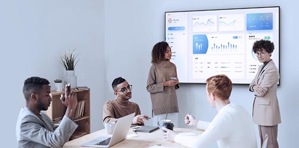 écran affichage dynamique secteur entreprise