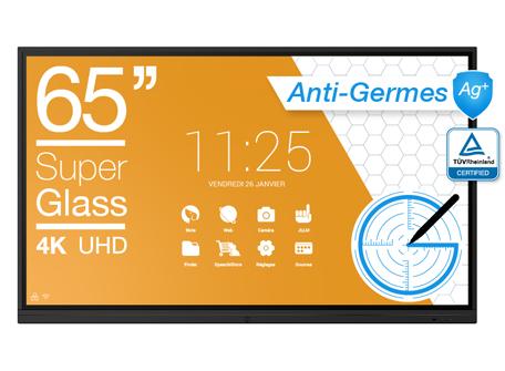 écran anti-germes 65''