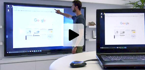 Transmetteur sans fil Speechi pour écrans interactifs tactiles
